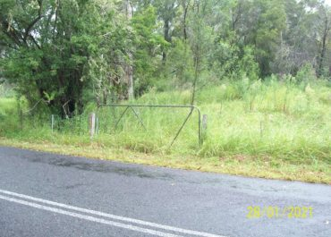 Old Convict Road access at Paynes Crossing